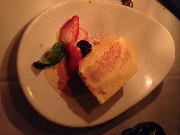 Fancy dessert.