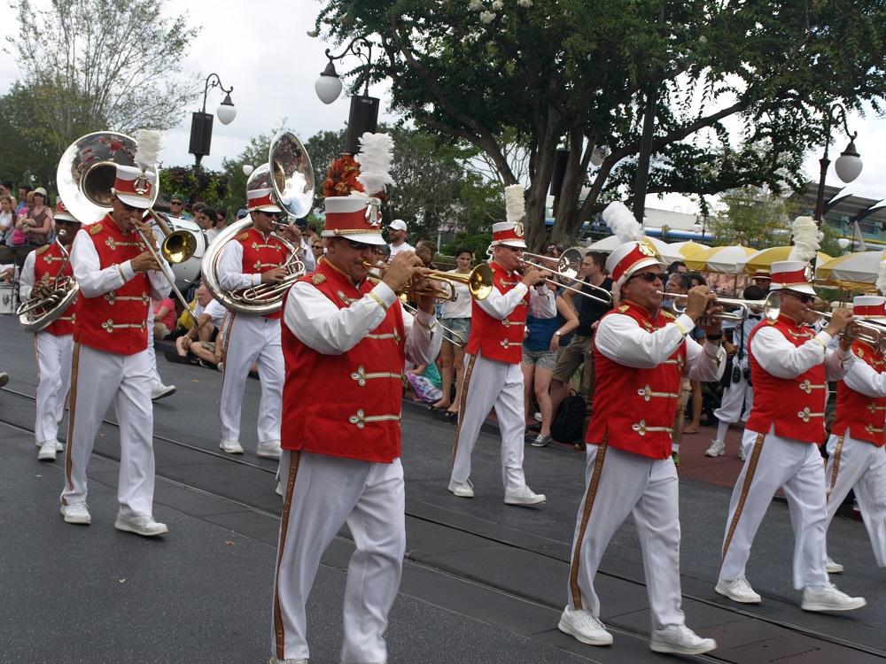 Main Street Philharmonic at Main Street USA
