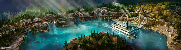 Disneyland reveals new look coming to Rivers of America