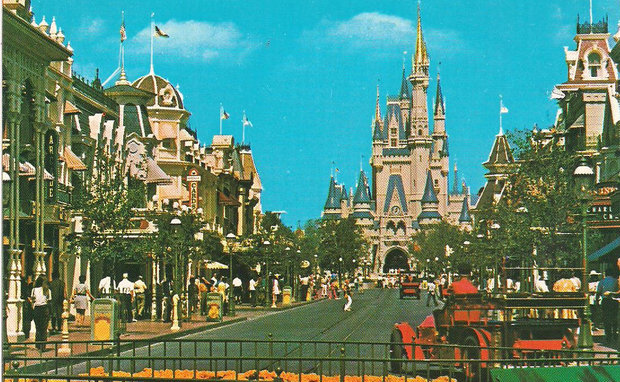 Back when Main Street was actually a street.