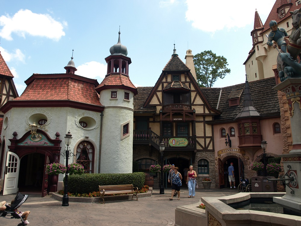 Table Service and Quick Service Restaurants in The Germany Pavilion World Showcase Epcot