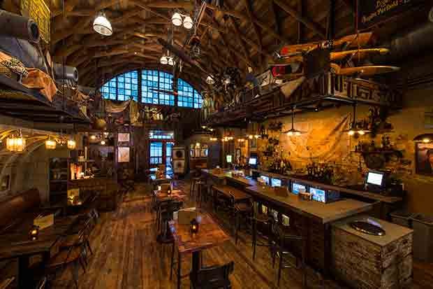 Vibe Best Beverage Menu Award For Jock Lindsey S Hangar Bar