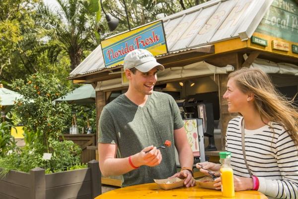 Florida Fresh Outdoor Kitchen at Epcot International Flower & Garden Festival
