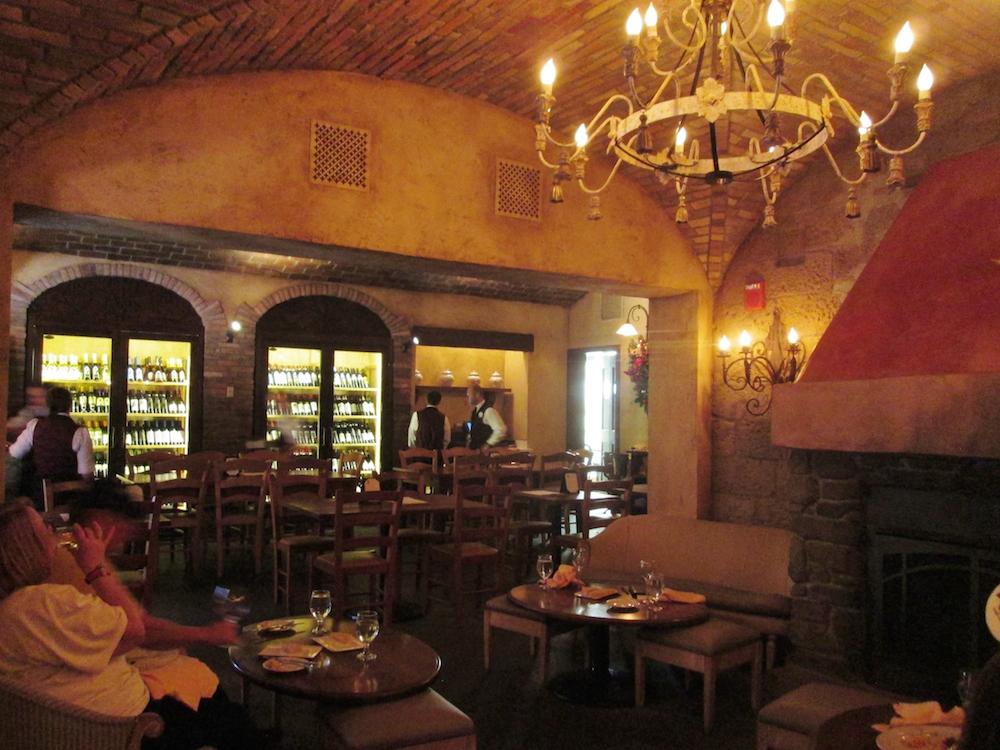 2015-01-06q Tutto Gusto wine cellar interior