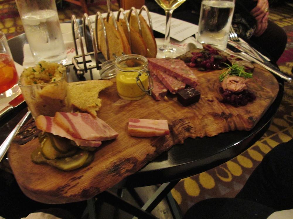 2015-01-08u Charcuterie board in California Grill
