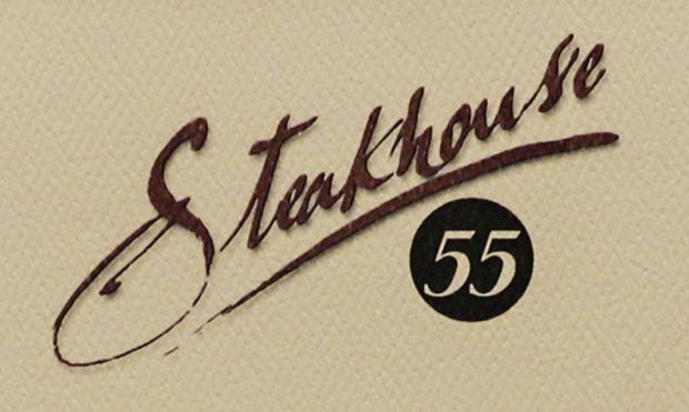 Steakhouse 55. Breakfast in a steakhouse? Yes, please!