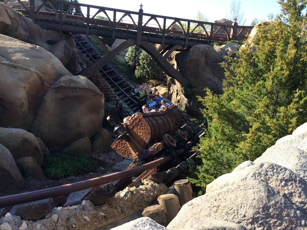 The Seven Dwarfs Mine Train - Magic Kingdom