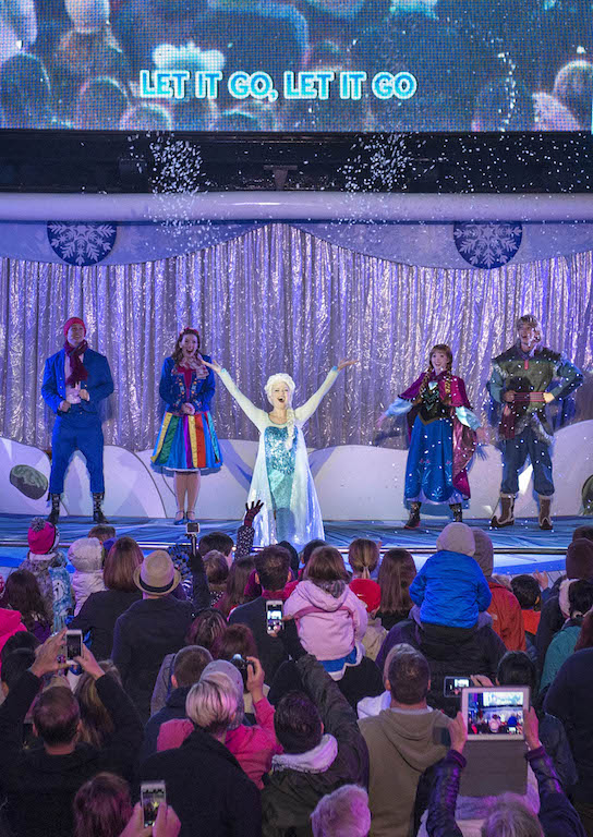 """""""Freezing the Night Away with Anna, Elsa and Friends"""" Deck Party"""