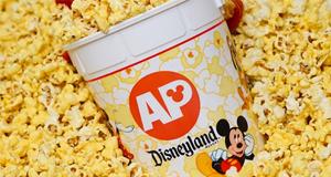Refillable popcorn bucket offer for Disneyland Passholders