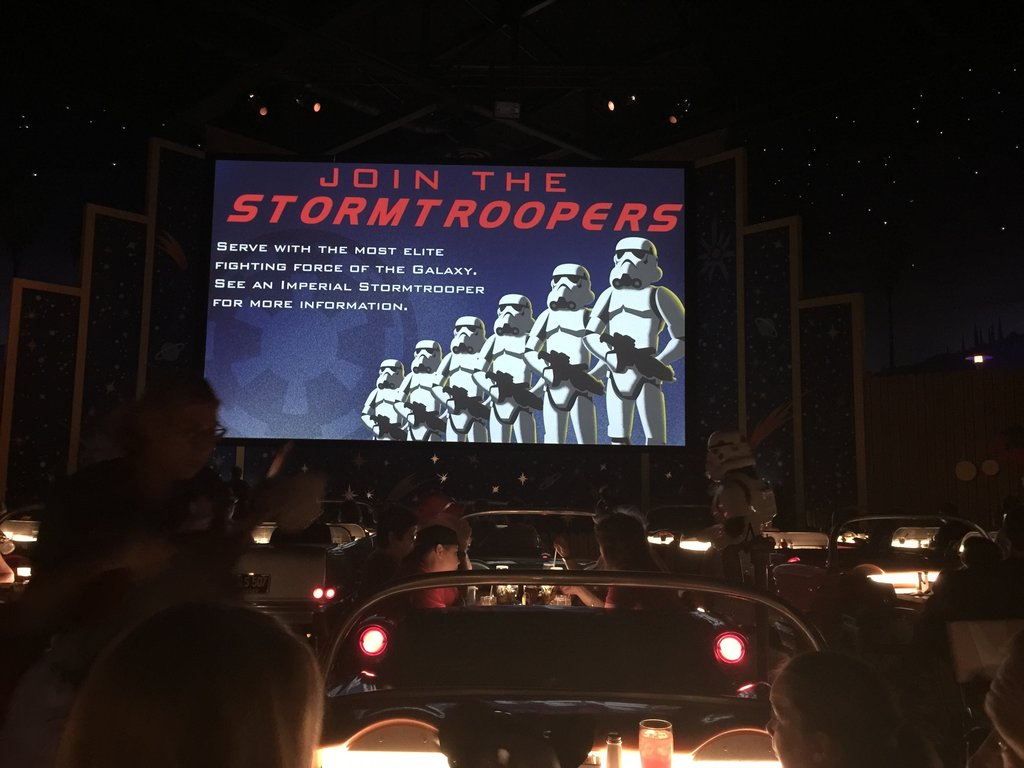 Recruiting ads to be a stormtrooper