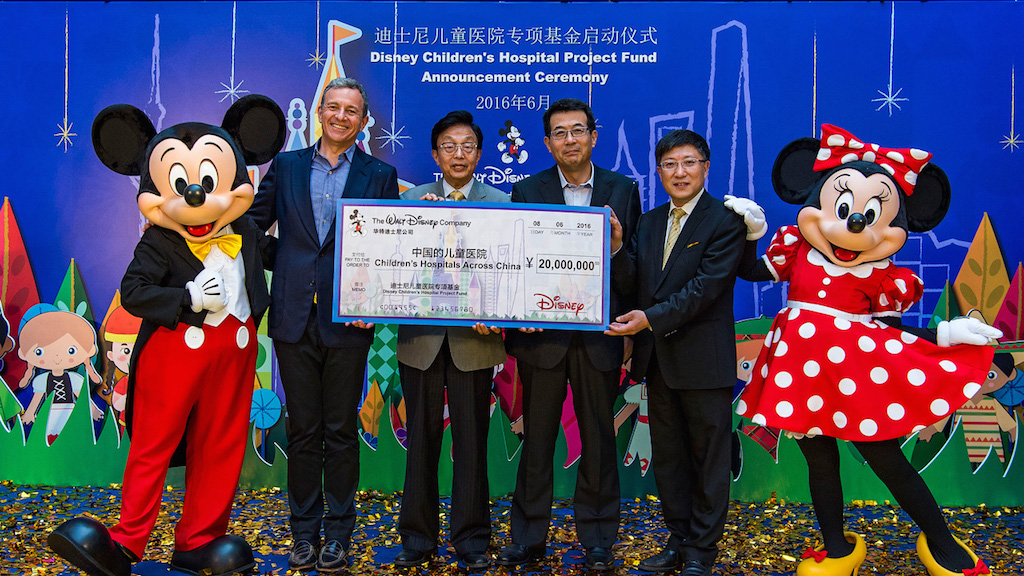 Walt Disney Co Celebrates Opening Of Shanghai Disney By