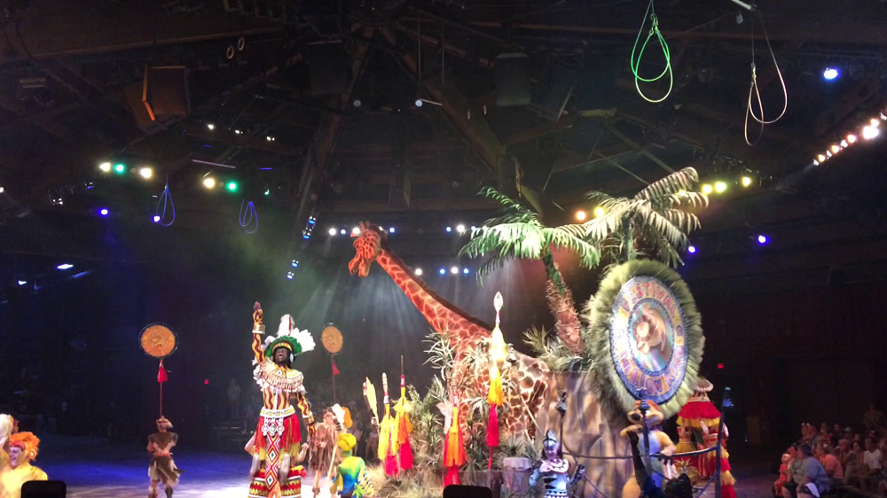The Lion King Show - Animal Kingdom