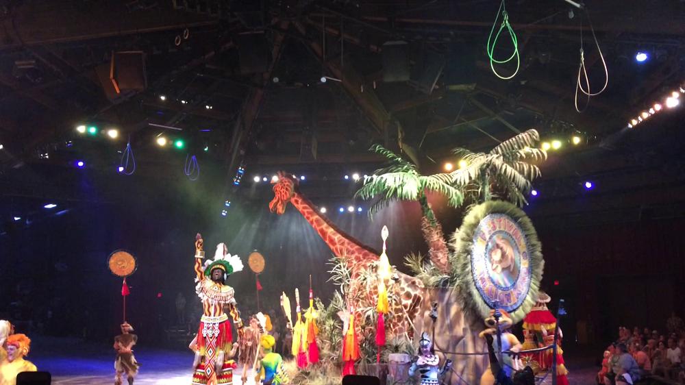 The Lion King Show - Animal Kingdom