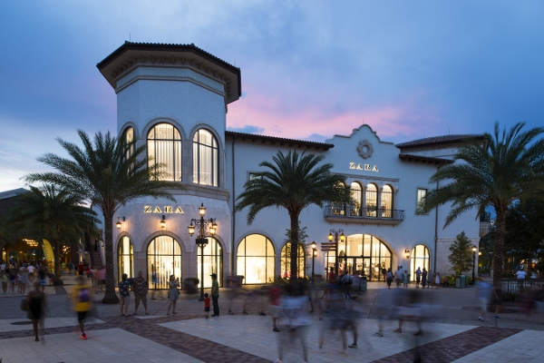 Zara is among the eclectic and contemporary mix of retail shops from Disney and other noteworthy brands at Town Center inside Disney Springs. Within Town Center, guests will find exceptional shopping and dining experiences along with breathtaking vistas o