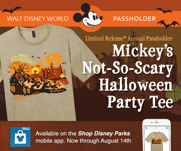 Annual Passholder T Shirts Available For Walt Disney World