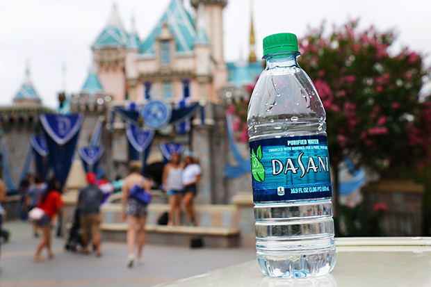 Water in Disneyland