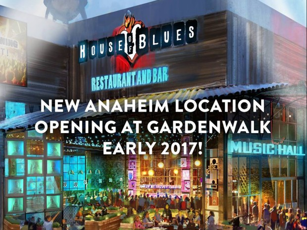 Former house of blues anaheim building to be torn down - House of blues anaheim garden walk ...