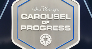 New sign in place for Tomorrowland's Carousel of Progress