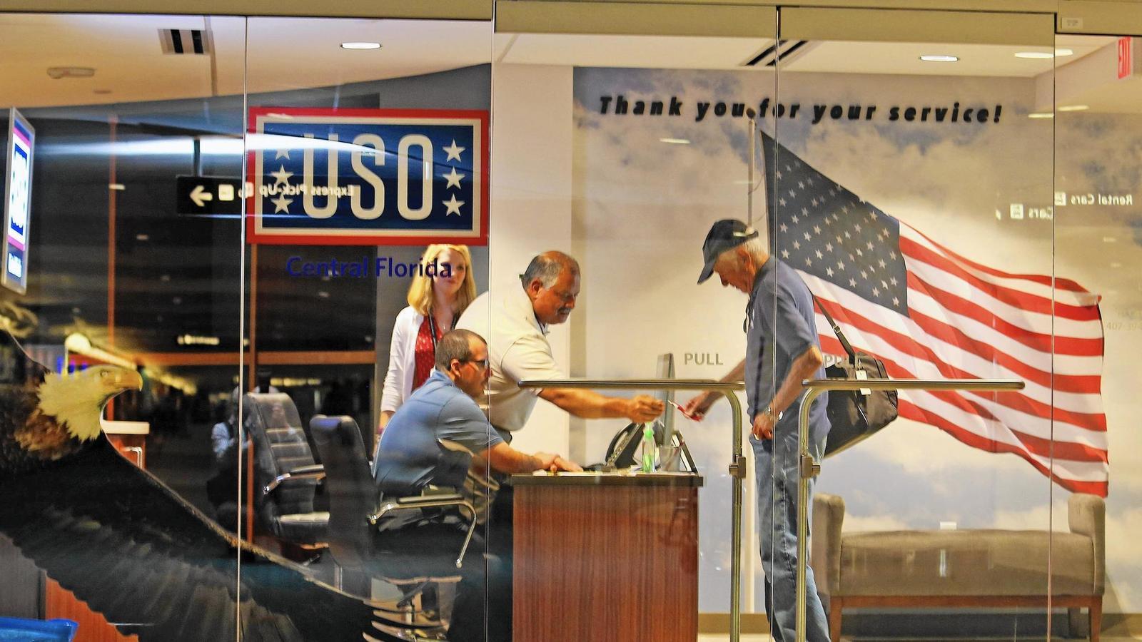 Orlando International Airport Opens New Uso Welcome Center