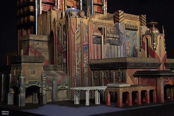 Disneyland Shows Off Guardians Of The Galaxy Model