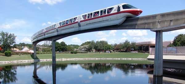 Monorail Epcot 2