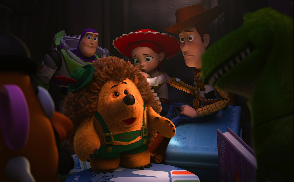 """TOY STORY OF TERROR - ABC has set an airdate for Disney•Pixar's first special for television, """"Toy Story OF TERROR!,"""" a spooky new tale featuring all of your favorite characters from the """"Toy Story"""" films, airing WEDNESDAY, OCTOBER 16 (8:00-8:30 p.m., ET). What starts out as a fun road trip for the """"Toy Story"""" gang takes an unexpected turn for the worse when the trip detours to a roadside motel. After one of the toys goes missing, the others find themselves caught up in a mysterious sequence of events that must be solved before they all suffer the same fate in this """"Toy Story OF TERROR!"""" (Disney/Pixar 2013) MR. POTATO HEAD, BUZZ LIGHTYEAR, MR. PRICKLEPANTS, JESSIE, WOODY, REX"""
