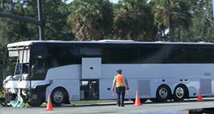 Two buses crash on Disney property