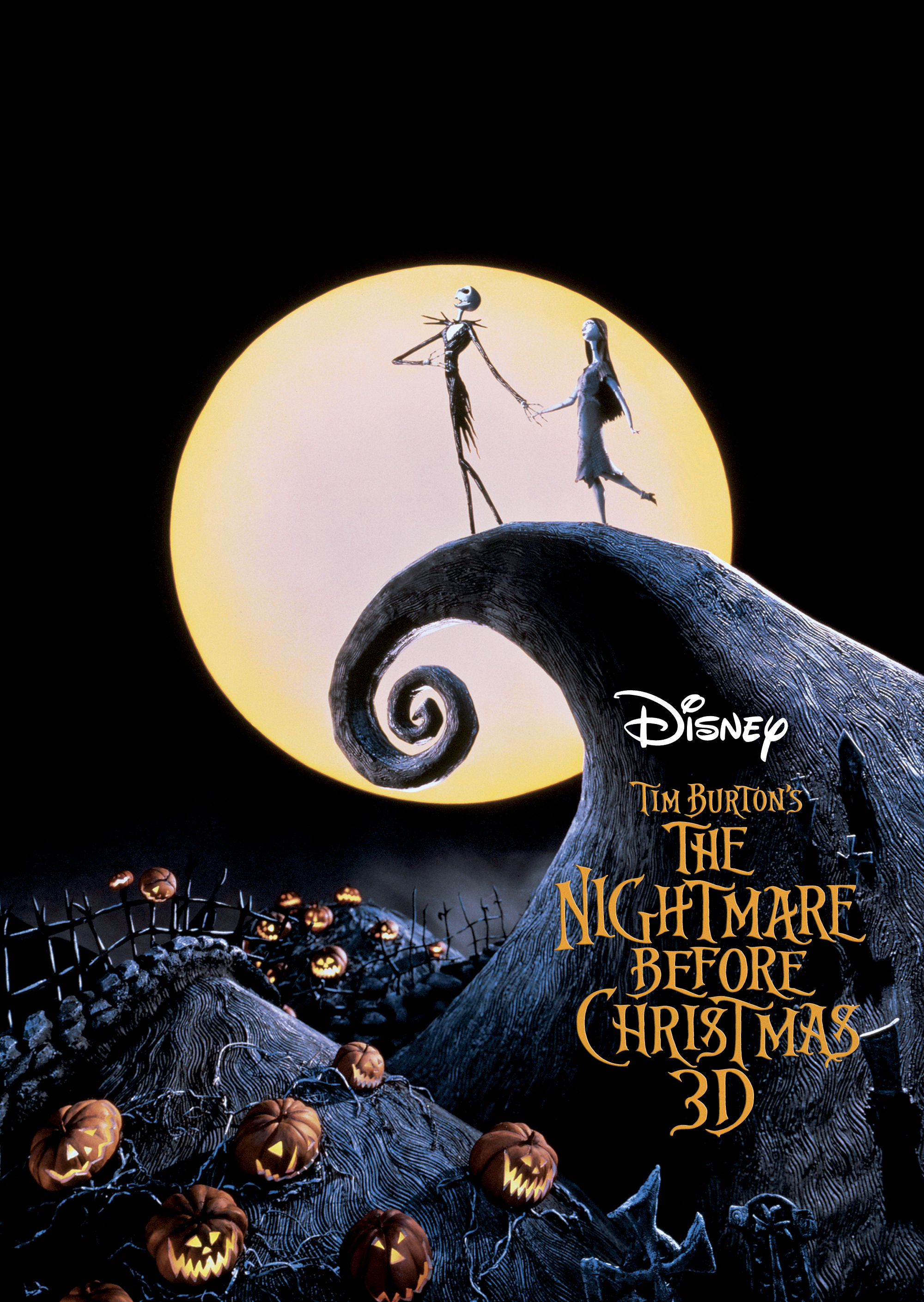 select theaters to show nightmare before christmas this weekend - Nightmare Before Christmas Disney