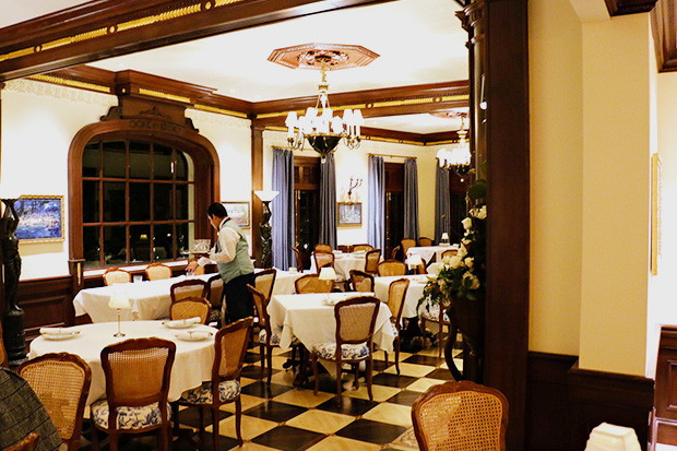 Club33 - dining room