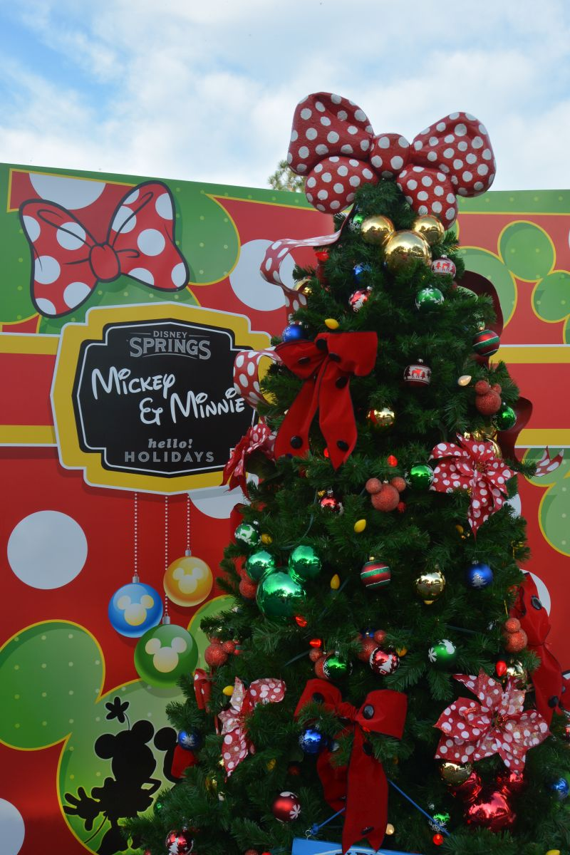 New The Christmas Tree Trail Opens At Disney Springs