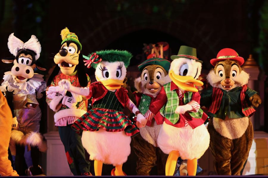 Mickey's Very Merry Christmas Party 2016, Christmas at Disney World
