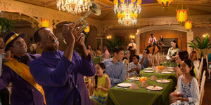 Menu for Tiana's Place onboard the re-imagined Disney Wonder