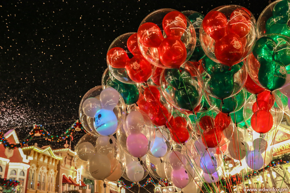 snow - Mickeys Christmas Party Tickets