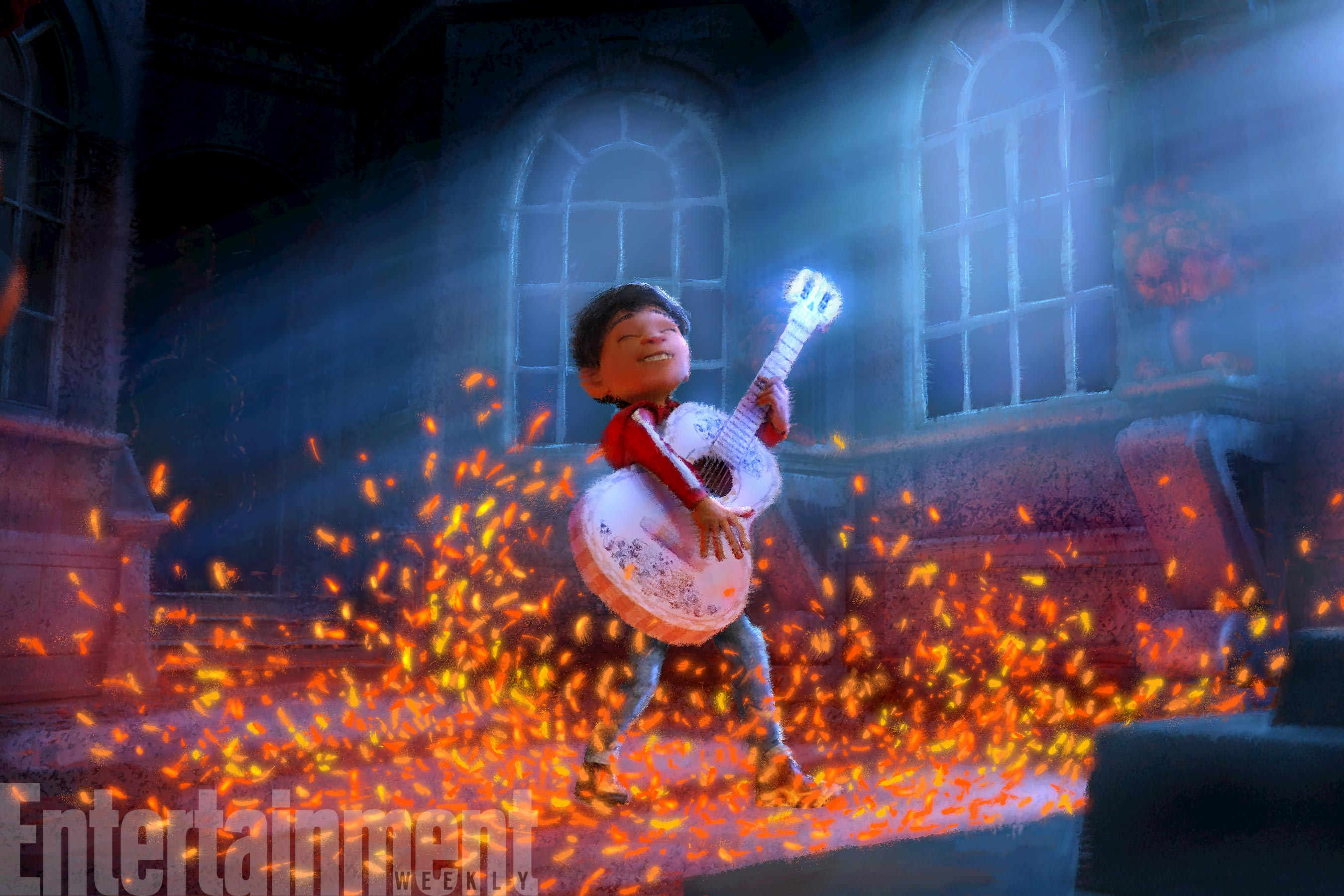 Coco (2017) Concept Art Miguel (voiced by Anthony Gonzalez)