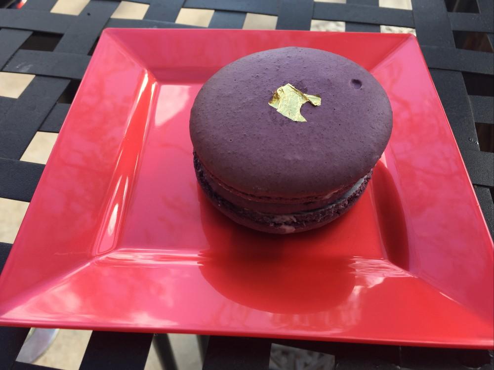 Purple Sweet Potato Macaron