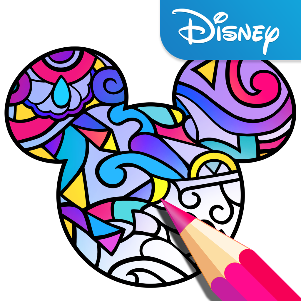 "Disney releases adult coloring app ""Color by Disney"""