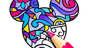 Disney releases adult coloring app