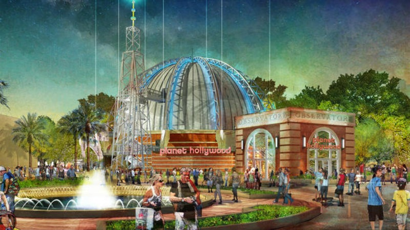 Planet Hollywood Observatory At Disney Springs Is Now Open