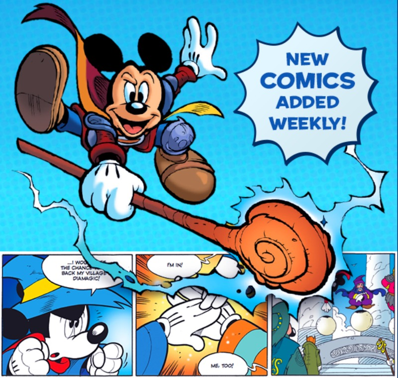 Disney Story Central Comics