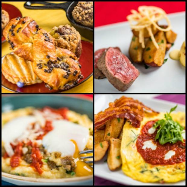 Trattoria Breakfast Collage