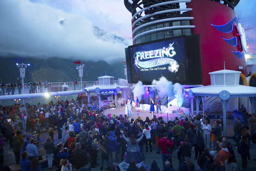 Frozen Themed Deck Parties Return This Summer