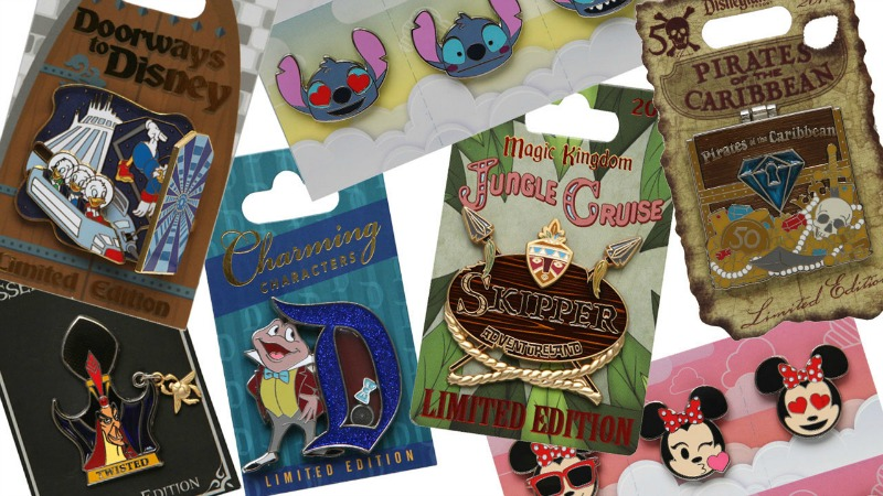 New Trading Pins Revealed for 2017 from Disney Parks Blog Unboxed