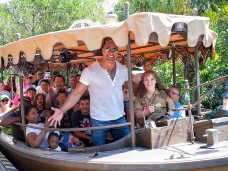 The Rock on Jungle Cruise