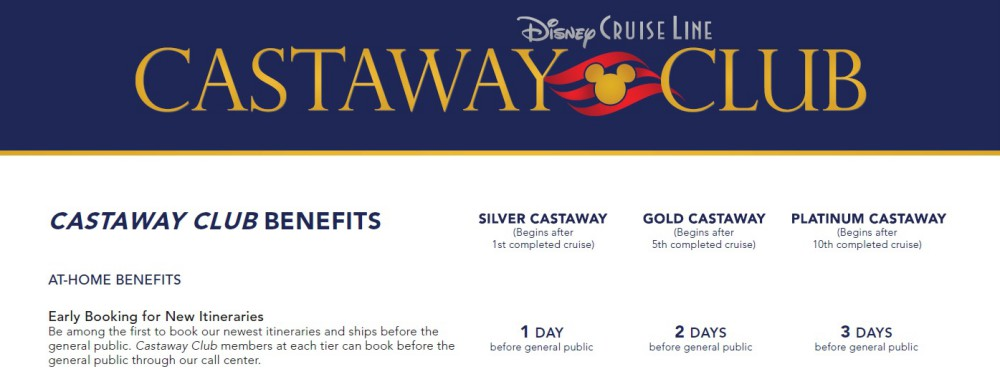 Changes to Castaway Club Benefits