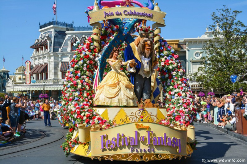 Festival Of Fantasy Parade At Magic Kingdom Moves To A New