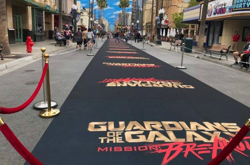 Guardians of the Galaxy Black Carpet