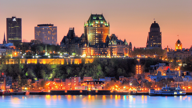 The 400th anniversary of the founding of Quebec City, a milestone reached by very few North American cities.