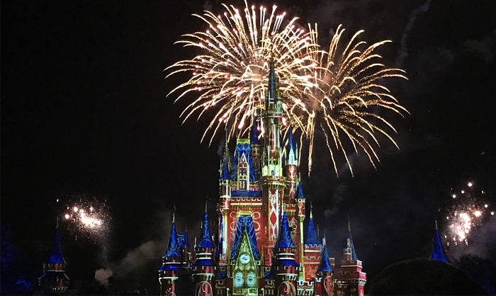 Review Opening Night Of Happily Ever After Fireworks Dazzles