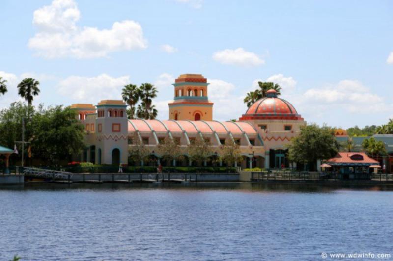 Disney S Coronado Springs Resort Adds Temporary Pedestrian