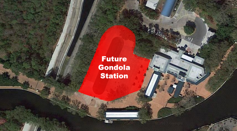 Construction Walls For Gondola Station Pop Up On The
